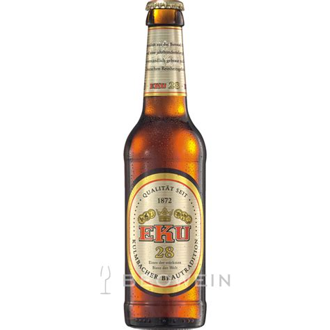 EKU 28 strong beer 0,33 l - buy now at beowein mail order